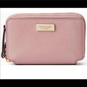 "Kate spade ""Rosie""credit card wallet with dust bag"